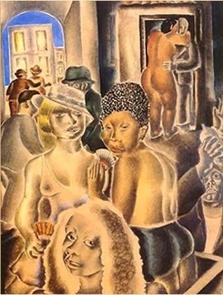 """BlanchetteDi Cavalcanti's """"A Mulata"""", 1927"""