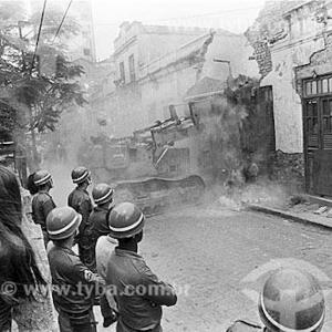 Destruction of the Mangue, 1977 (photo via Thaddeus Blanchette)