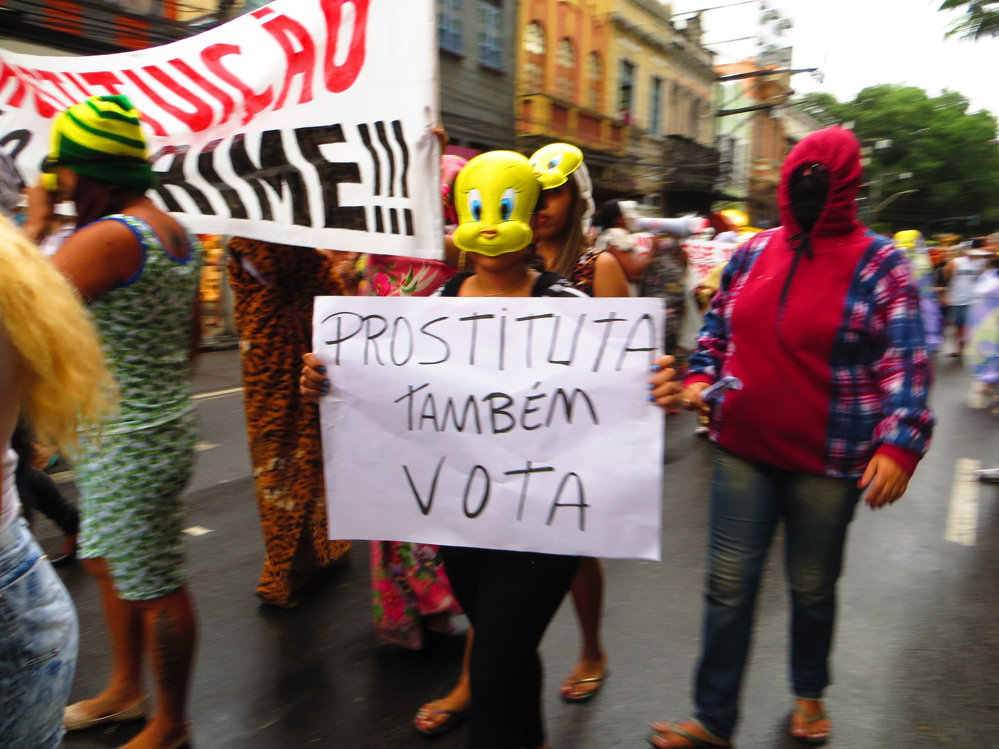 """Prostitutes also vote"""